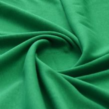 Green - Plain 100% Cotton Interlock Double Jersey
